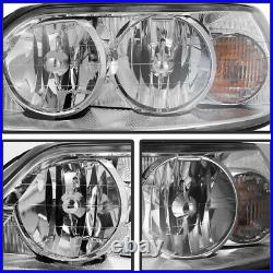 05-11 Lincoln TownCar Sedan Limo Replacement Front LEFT RIGHT Headlight Assembly