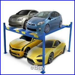 4 post car parking with simple and lightweight designed uses for home garage