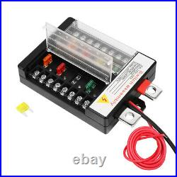 8 Gang Switch Panel On-Off LED Car Switch Panel Circuit Control 12V 24V Dimmable