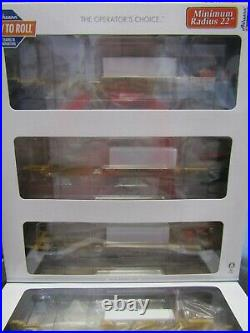 ATHEARN 64017 HO TTX TRINITY 75ft ALL PURPOSE 3 UNIT SPINE CAR SET RD#360889