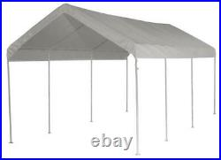 All Purpose Outdoor Canopy Car Garage Popup Shelter Shade 10' x 20' 8 Poles
