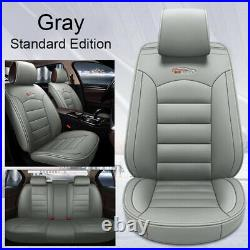 Auto Car SUV 5-Seat PU Leather Seat Covers Cushion For Toyota Camry Corolla