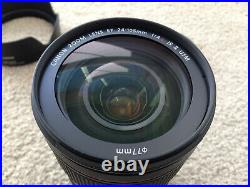 Canon EF 24-105mm f4L IS II USM Lens Only Used Once for Testing Purpose