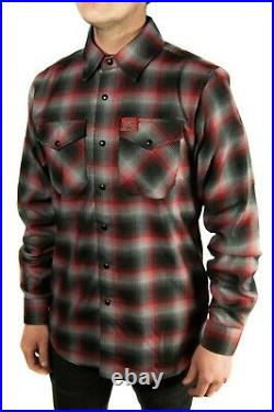 Dixxon Kindig-it Designs Mens LARGE L Flannel New in bag withTag car culture