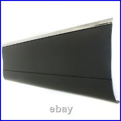 Door Molding For 98-11 Town Car Front Driver Side with Chrome Paint To Match