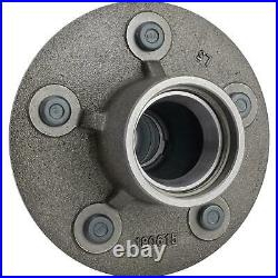 Early Ford Car Front Brake Hub with Dust Cap 5 on 5.5 Bolt Circle 1940 Design