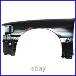 Fender Set For 2003-2011 Lincoln Town Car Front Primed Steel with Molding Holes