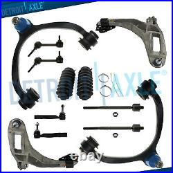 Front Control Arm Ball Joint Tie Rod Sway Bar Kit for 2003-2011 Lincoln Town Car