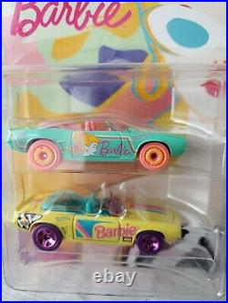HOT WHEELS Barbie 60th Design Competion 69 Camaros Employee ONLY SUPER RARE