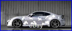Livery camouflage universal side wall car design
