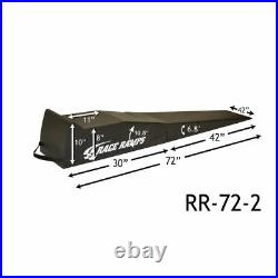 Race Ramps RR-72-2 72 2-Stage Incline Ramps Lightweight Service Ramps Show Car