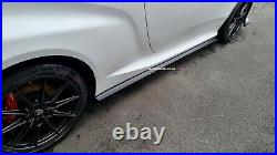 Toyota Yaris GR, GR4 Side Skirt Extensions 2020-, Designed By HT Autos UK