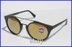 VUARNET Round Cable Car VL 1602 0001 2124 Sunglasses Brown/Gold Flashed France